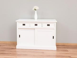 weißes Landhausstil Schiebetüren Sideboard