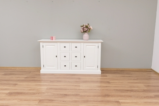Sideboard weiß Landhausstil