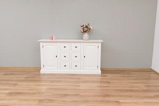 Sideboard weiß Landhausstil