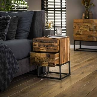 Nachttisch Mill mit zwei Schubladen Dortmund