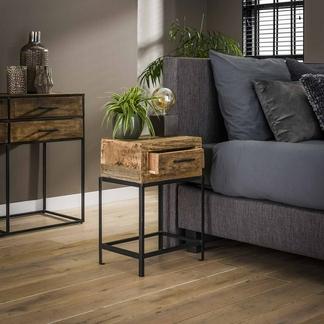 Nachttisch Lodge mit einer Schublade Bochum