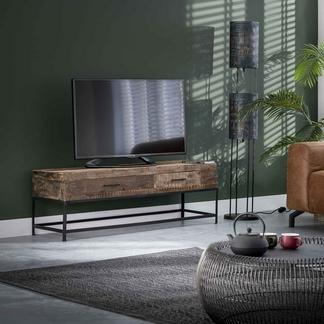 TV-Möbel Lodge mit zwei Schubladen aus Recycling-Holz Wuppertal